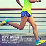 No Show Compression Socks for Men and Women, Low