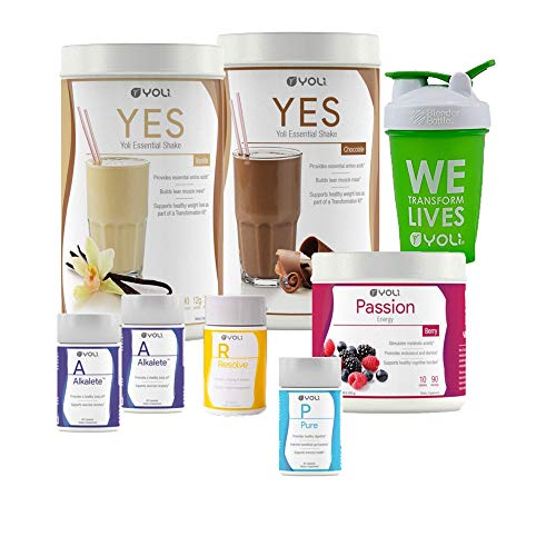 (Yoli Transformation Kit - Yes, Passion, Alkalete, Pure, Resolve)