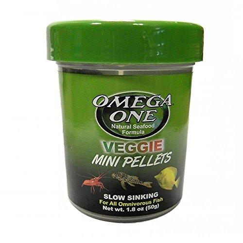Omega One Veggie Mini Pellets, 1.8 oz.
