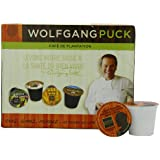 Wolfgang Puck Coffee, Chef's Reserve Colombian Decaf (Medium Roast), 24-Count K-Cups for Keurig Brewers (Pack of 2)