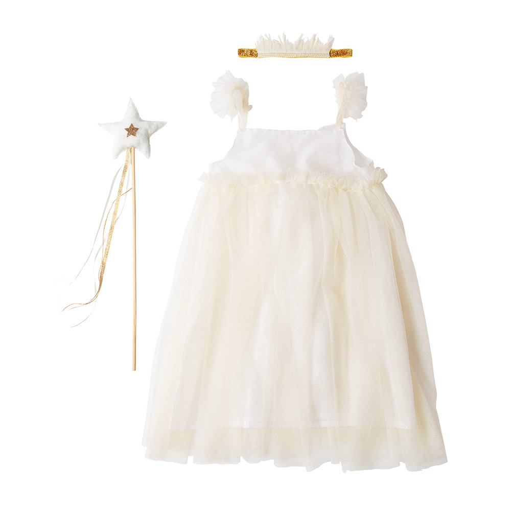 Meri Meri White Tulle Fairy DressUp Set (56 years)
