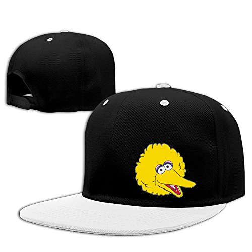 Big Bird Hat (Big Bird Caroll Spinney Unisex Adjustable Visor Hats Hip Hop Caps)