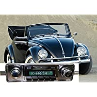 1958-1967 Volkswagen Bug Beetle USA-630 II High Power 300 watt AM FM Car Stereo/Radio with iPod Docking Cable