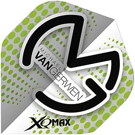 1 x Set of XQ MAX MVG DART FLIGHTS 10 Designs 100 Micron Michael Van Gerwen