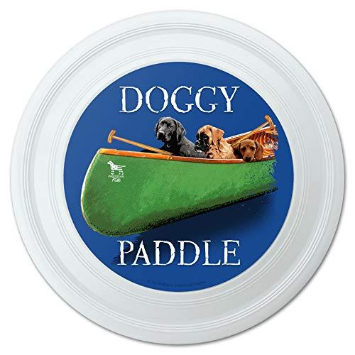 GRAPHICS & MORE Doggy Dog Paddle Canoe Dogs Novelty 9