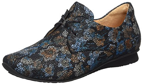 Mujer 12 Petrol Derby Sz Chilli para Multicolor Think q7tg0t