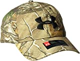 Under Armour Men's Camo 2.0 Cap, Realtree Ap-Xtra /Black, One Size