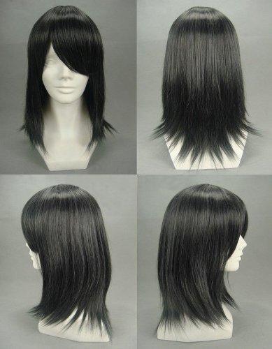 Playcosland Cosplay Ash-Sebastian Michaelis Black Cosplay Japanese Short Wig [Misc.]