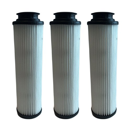 Vacuum 40140201 Hepa Replacement Filter (3 Replacements for Hoover Windtunnel Bagless HEPA Style Filter Fits Empower & Savvy, Compatible With Part # 40140201, 43611042 & 42611049, Washable & Reusable, by Think Crucial)