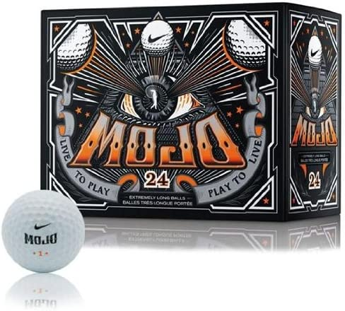 Nike Golf 2013 Mojo Golf Ball (24-Pack), White