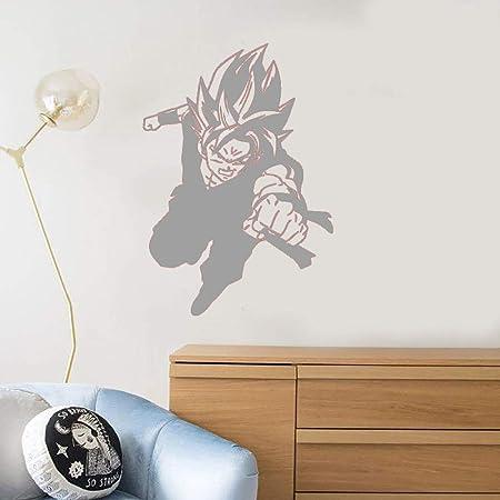 guijiumai Vinilo Tatuajes de Pared Dragon Ball Z Boy Anime Cartoon ...