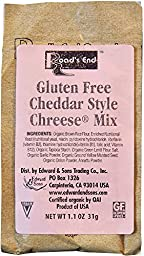 Road\'s End Organics Gluten Free Cheddar Chreese Mix, 1.1-Ounce Pouches (Pack of 12)