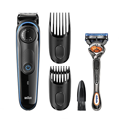u s a free shipping braun bt3020 beard trimmer for men perfect beard easy fast precise. Black Bedroom Furniture Sets. Home Design Ideas