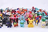 Giftlovers Pokemon Action Figure 0.5- 1.5 inches - 24Pcs Set Random characters