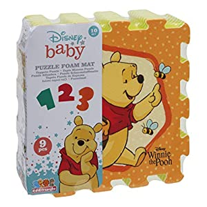 Wood N Play Winnie The Pooh Tappeto Puzzle Soft