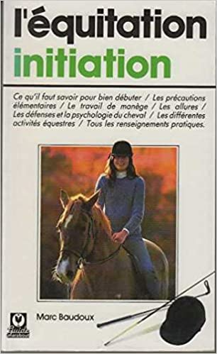 L'Equitation, initiation (Guides Marabout) pdf ebook
