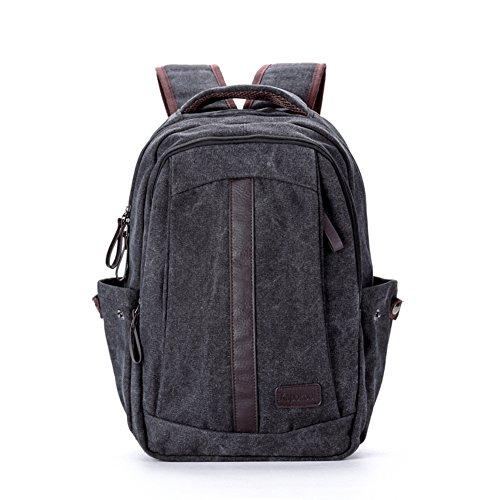 Bolso de hombro de los hombres/Bolso de la lona/[mochila]/Bolsas de la escuela/Bolso grande/Bolso de la computadora/Bolsa de viaje-B B