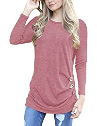 Womens Blouses And Button Down Shirts Amazon Com