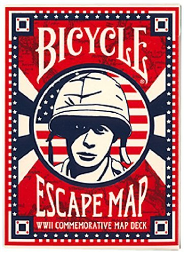 Bicycle Escape Map Playing Cards by The United States Playing Card Co.