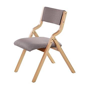 silla plegable Sillas de madera para sillas plegables Silla ...