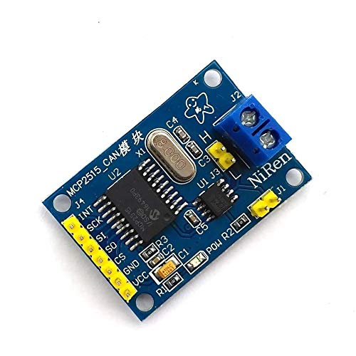 ZUOYA 1PCS MCP2515 CAN Bus Module TJA1050 Receiver SPI for 51 MCU ARM Controller