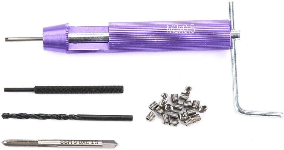 M30.5 Screw Threaded Inserts Repair Set 304 Stainless Steel Car Repairing Drilling Machine