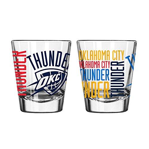 Oklahoma City Thunder Official NBA 2 fl. oz. Spirit Shot Glass