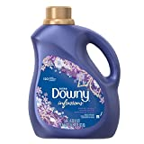 Downy Ultra Infusions Liquid Fabric Softener, Lavender Serenity Scent, 3.05 L (120 Loads)