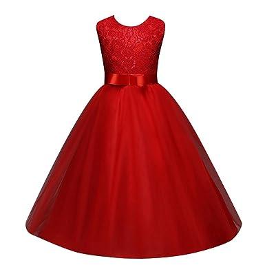 116f6f8faedaf 女の子レースドレス セレモニー 子供ドレス キッズワンピース フォーマル女児 キッズ 服 子供 ノースリーブ女の子 ガールズ
