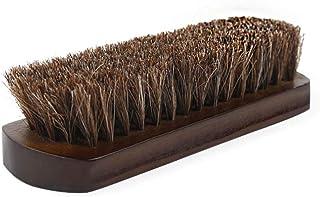 Crine scarpe spazzola a setole di cavallo kit di pulizia per lucidare da stivali di pelle grembiuli e altri