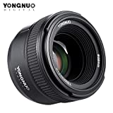 YONGNUO YN50mm F1.8 Large Aperture AF Auto Focus FX DX Full Frame Lens for Nikon