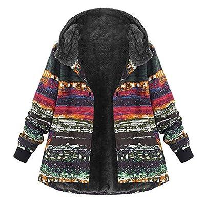 Ladies Vintage Faux Fleece