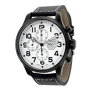 Zeno-Watch Mens Watch - OS Pilot Chrono Basilea black - 8557TVDD-bk-i2