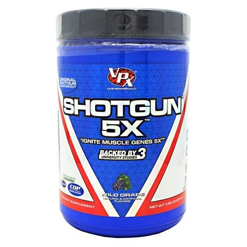 Shotgun 5X Wild Grape 28 Servings By VPX
