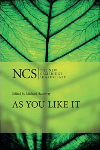 Book As You Like It (The New Cambridge Shakespeare)