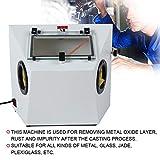 Portable Sand Blasting Machine, Benchtop