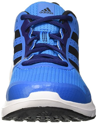 adidas Duramo 7, Scarpe da Corsa Uomo Blu (Solar Blue/Night Met, Midnight Indigo F)