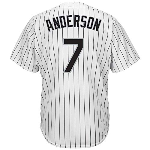 WissHopl Men's/Women's/Youth_Tim_Anderson_White_Player_Jersey
