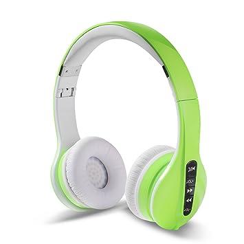 reetec V4.0 Over-Ear Bluetooth inalámbrico plegable estéreo de alta fidelidad auriculares de