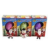 Water Hatching Egg, Rambly Novelty Christmas Santa Resurrection Eggs Snowman