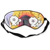 HEHE TAN Cute Dog Japanese Eye Mask Sleeping Mask Silk Mask Shade Sleep Gossles Eyeshade/Blindfold