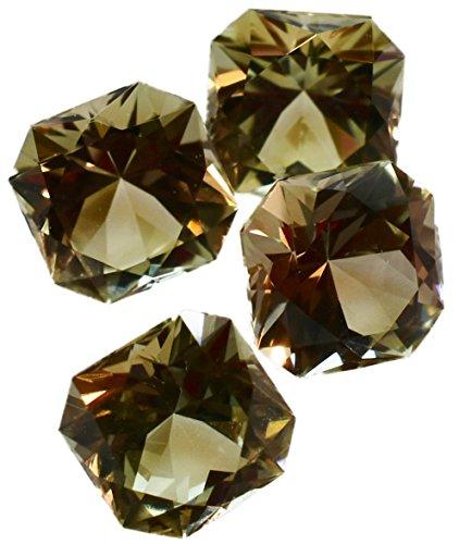 Zultanite (1) .61 Ct Natural Color-change Loose Gemstone 5mm Square Cut Cert of Auth (Cert Gem)