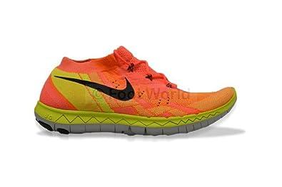 Nike Free 3.0 Flyknit, de Course Pour Femme - Orange - Hot Lava Black Total  Orange, 24 EU: Amazon.fr: Chaussures et Sacs