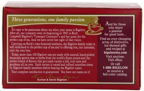 Bigelow Tea Pomegranate Black Tea, 1.50-Ounce Boxes (Pack of 6)