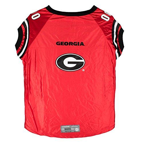 NCAA Georgia Bulldogs Premium Pet Jersey, Big Dog