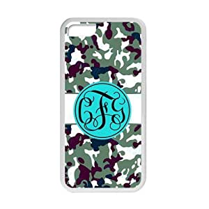 meilz aiaiBhite Striped Blue Monogram in The Army Camouflage Background Design Fashion Custom Luxury Cover Case With Plastic For iphone 6 4.7 inchmeilz aiai