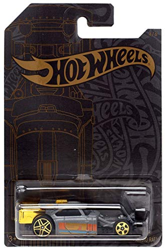 Hot Wheels Aristo Rat 4 of 6 51st Anniversary Satin & Chrome Series 1:64 Scale Collectible Die Cast Model Car