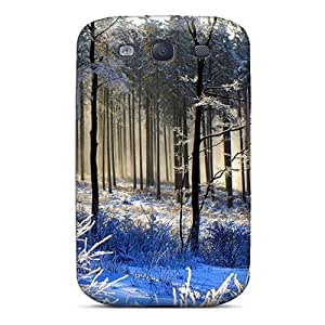 Mialisabblake Galaxy S3 Hybrid Tpu Case Cover Silicon Bumper Young Forest In Blue Winter