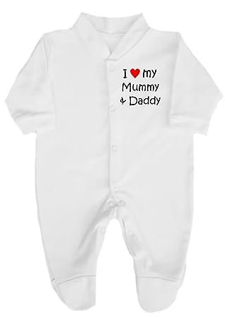 Shopagift My Mummy is One in a Million Baby Sleepsuit Romper