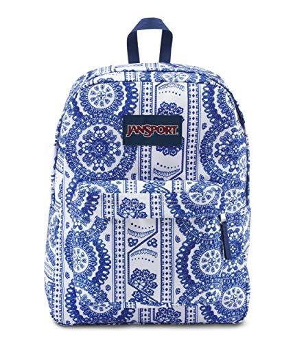 JanSport JS00T5010L0 Superbreak Backpack, (White Swedish Lace) ()